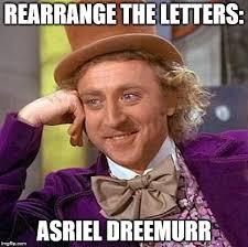 Meme Letters - creepy condescending wonka meme imgflip