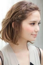 Sch E Hochsteckfrisurenen Mittellange Haare by Die Besten 25 Frisuren Für Kurze Haare Ideen Auf