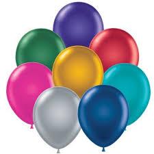 metallic balloons metallic helium balloons