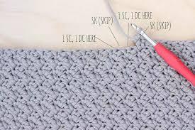 pattern of crochet stitches easy modern free crochet bag pattern for beginners