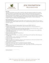 Housekeeping Sample Resume by Prepossessing Resume Sample Housekeeping Hotel With Additional