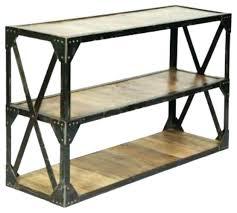 Industrial Console Table Industrial Console Table Industrial Console Table Tables With