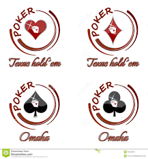 holden logo vector set of poker icons with playing card symbol on a white background