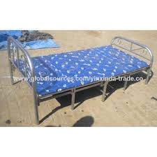 china cheap price metal folding bed for saudi arabia on global sources