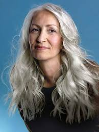 long gray hairstyles for women over 50 long hairstyles for grey hair over 50 4k wallpapers