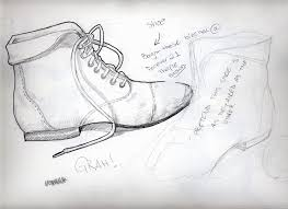 sketch of a shoes by wiccimm on deviantart