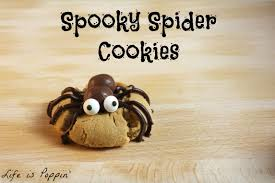 spooky spider cookies life is poppin u0027