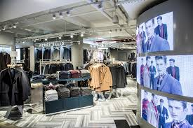 perry ellis debuts u0027shop of the future u0027 retail concept at macy u0027s
