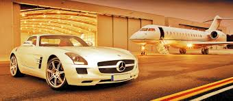 Luxury Private Jets Private Jet And Mercedes Sls Amg Wallpapers Perfect Desktop