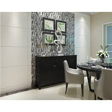 black glass backsplash kitchen glass interlocking mosaic tile silver 304 stainless steel tile