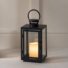 outdoor décor candle lanterns with timer ebay