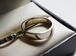 wedding quotes engraving wedding ring engraving quotes c bertha fashion wedding ring