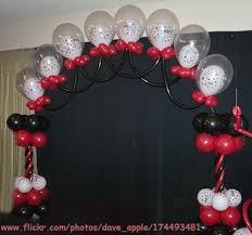 how to make a balloon arch diy balloon arch for the entrance to the yard luma s watermelon