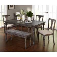 dining room set with bench stunning ideas dining room sets with bench and chairs homey 26 big