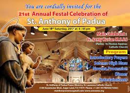 st anthony of padua prayer st laurence catholic church