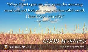 Ralph Waldo Emerson Quotes on God and Morning themindquotes