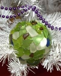 mosaic glass ornaments spheres