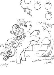 apple tree coloring pages my little pony and apple tree coloring pages hellokids com