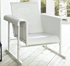 Veranda Metal Patio Loveseat Glider by Metal Outdoor Glider Chair