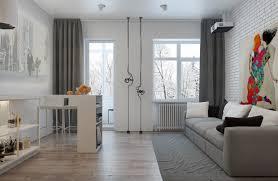 3 ötletadó kis lakás 50m2 alatt üvegfallal leválasztott
