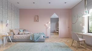 mur chambre fille peinture chambre ado fille 4 mur chambre poudr233 home