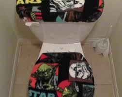 Star Wars Bathroom Accessories Star Wars Toilet Etsy