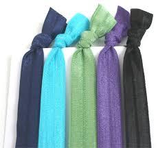 no crease hair ties elastic hair ties hair bands 5 ribbon hair ties no