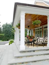 front porch columns exterior traditional with yellow retaining