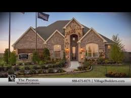 village builders floor plans the preston model tour village builders houston youtube
