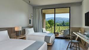Napa Bedroom Furniture by Napa Valley Resorts Napa Valley Hotels Las Alcobas A Luxury