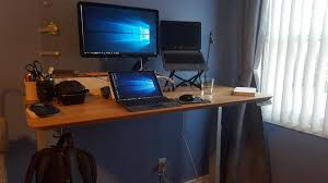 Ikea Fredrik Standing Desk by Ikea Monitor Stand So My Advice It If You Have Ikea Or Any