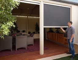 Roll Up Patio Blinds by Make Your Outdoor Area Beautiful With Outdoor Patio Blinds