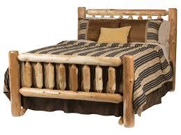 Cheap Log Bed Frames Timber Log Bed