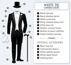 black tie attire white tie guide to white tie dress code tie a tie net