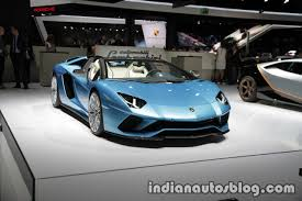 Lamborghini Aventador Front - lamborghini aventador s roadster front three quarters right side