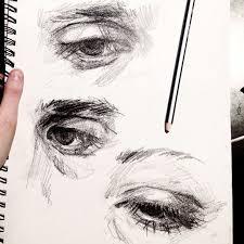 best 25 eye sketch ideas on pinterest eye drawings drawing