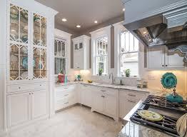 glass cabinets in white kitchen custom kitchen cabinets seeded glass white glass shelves