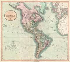 Map Of North America And Europe by File 1806 Cary Map Of The Western Hemisphere North America And