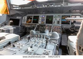 Airbus A 380 Interior Airbus A380 Cockpit Stock Images Royalty Free Images U0026 Vectors