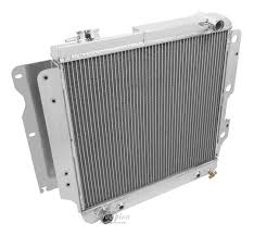 amazon com champion cooling 3 row all aluminum radiator for jeep
