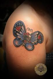 skull butterfly color by 2face on deviantart