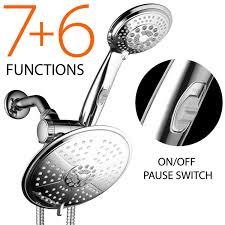 best dreamspa shower head best rated shower heads reviews dreamspa ultra luxury 38 setting 3 way dual rainfall shower head combo