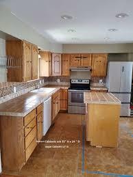 oak kitchen cabinets for sale oak kitchen cabinets