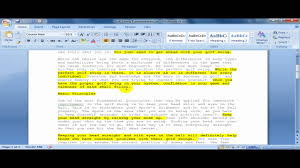 how to write a summary of a paper how to create a summary of a document in word 2007 youtube how to create a summary of a document in word 2007