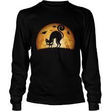 halloween lighted tree halloween cat sweatshirt