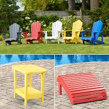 Colored Adirondack Chairs Adirondack Collection By Leisure Line