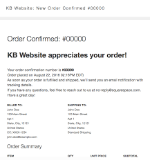 squarespace help commerce email notifications overview