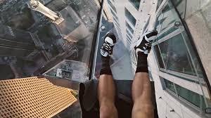 glass slide on 70th floor youtube