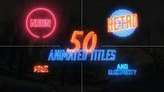 futuristic hi tech logo reveal after effects template ae