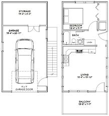 1 bedroom garage apartment floor plans 16x32 tiny house 16x32h9b 647 sq ft excellent floor plans